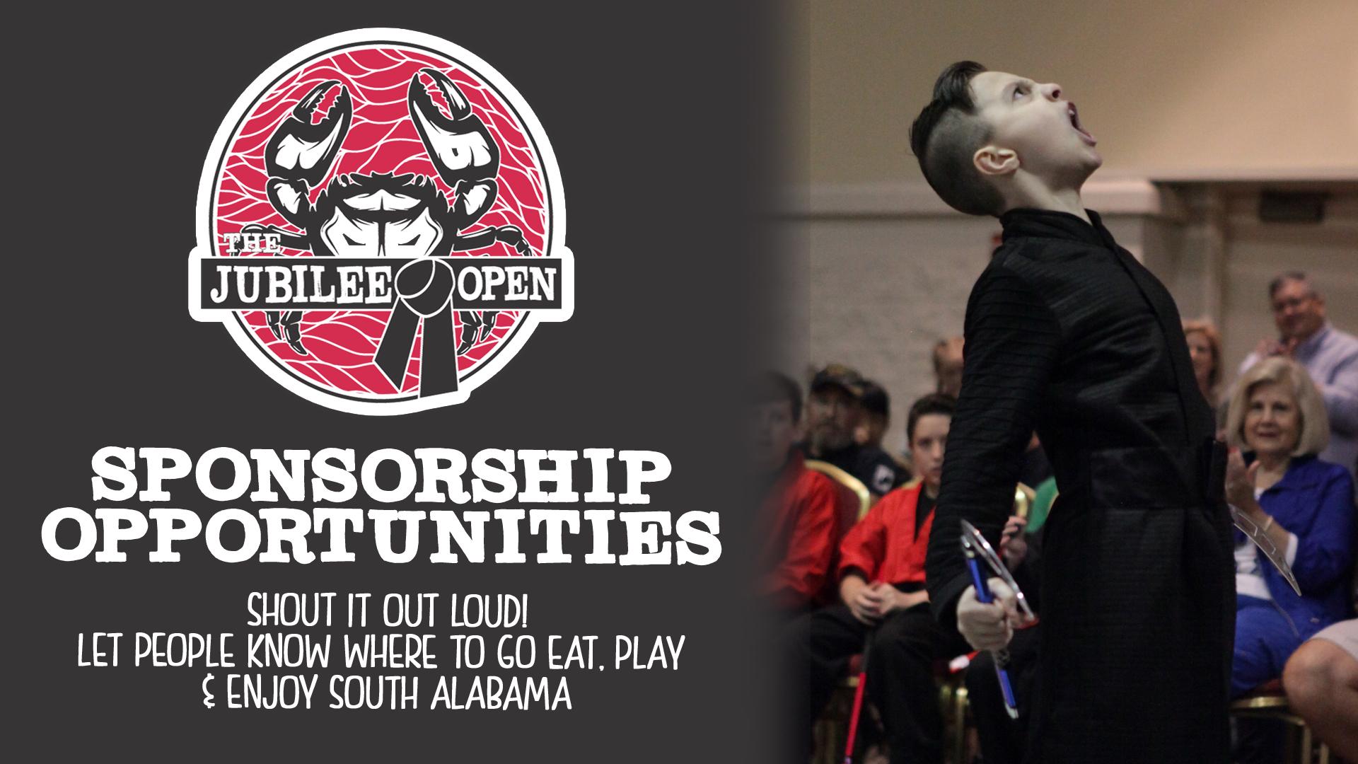 jubilee open sponsorship opportunities